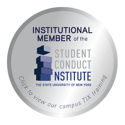 SCI (Student Conduct Institute) Badge