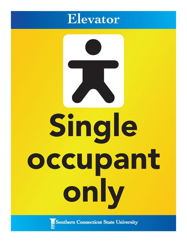 Single occupant only.