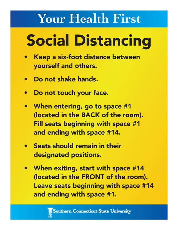 Your Health First - Social Distancing