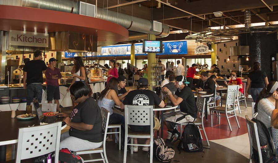 Conn Hall food court
