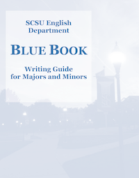 SCSU English Blue Book Writing Guide for English Majors and Minors Revised 2019