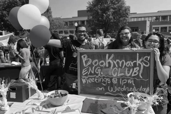 Photo of English Bookmarks Club at Southern's club fair