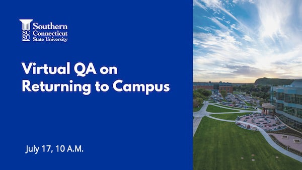 Virtual Q and A on Returning to Campus
